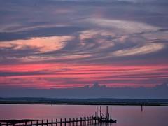 Swirly (Oblivious Dude) Tags: sunset virginia va chincoteague easternshoreofvirginia s95 chincoteaguebay canonpowershots95
