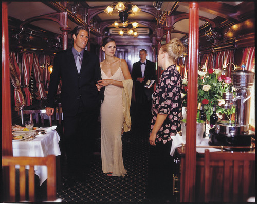 Rovos Rail from the Luxury Train Club - Elegant dining