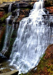 Falls (Jackie O. Photography) Tags: park autumn ohio fall water photography national waterfalls valley cuyahoga bvshow