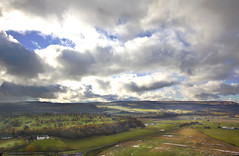 across the valley (Sic Itur Ad Astra LRPS) Tags: castle scotland day cloudy stirling stirlingcastle