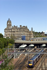 Balmoral Hotel, Waverly Station, Edinburgh (dkjphoto) Tags: uk castle tourism public station train hotel scotland edinburgh europe tour unitedkingdom johnson royal scottish princesstreet rail railway whiskey palace scotrail transportation commute royalmile whisky passenger scotch guest accommodation newtown luxury waverly balmoral scots fivestar wwwdenniskjohnsoncom denniskjohnson