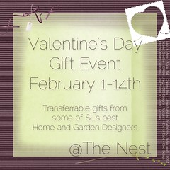 Valentine's Day Gift Event @ The Nest ( Garrett Ceriano) Tags: post event secondlife gift valentinesday floorplan mudhoney lessismore thenest doolally applefall scarletcreative cheekypea endofdaze {whatnext} insightdesignstextures cleodesign littlehouseofcurios lamefurniture circalivingcddesigns