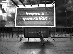 Inspire a Generation (@robson_santos) Tags: street blackandwhite bw white black london photography games olympic iphone london2012 streetsoflondon mobilephotography robsonsantos iphoneography iphoneographylondon inspireageneration