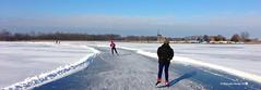 Schaatsen in Nederland winter 2013 (Hanneke Bantje) Tags: winter holland rotterdam iceskating skating schaatsen ijspret rottemeren 2013 schaatstocht hannekebantje