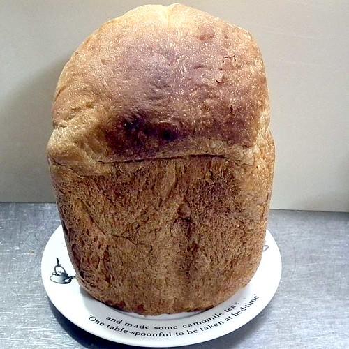 ホームベーカリーで2013年1月30日に作ったパン