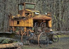 (misterladybug) Tags: tractor oregon rust decay logging equipment misterladybug mygearandme photographyforrecreation rememberthatmomentlevel1