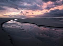 Miniature Delta (Danil) Tags: sunset sea holland beach strand river island wadden zonsondergang sand nederland delta zee friesland schiermonnikoog zand eiland beac danielbosma
