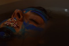 BLUE  #blue #shooting #water #colors #girl #inwater #immersa #pittura #nikon #nikonD3200 #today #photoshoot #photo #eyes #lips (martinagiacobbe) Tags: blue water colors girl photo eyes nikon photoshoot lips shooting today nikond3200 pittura inwater immersa