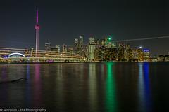 Toronto Skyline (Scorpion Lens) Tags: torontoskyline torontocityscape cntower rogerscentre