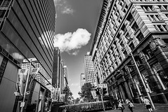 DSC00797 (Damir Govorcin Photography) Tags: martin place sydney sony a7ii zeiss 1635mm flags people