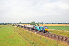 68017 - Colton Junction (Tommy's Railway Photos (formerly 96tommy)) Tags: class 68 drs 68001 68017 uk gb new rare diesel engine traction locomotive photo photography transport transportation railway train station direct rail service services york colton junction