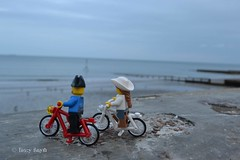 Seaside ride (223/366) (Tas1927) Tags: 366the2016edition 3662016 day223366 10aug16 captainjack lego pirate bicycle shanklin isleofwight