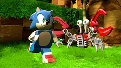 LEGO Dimensions SEGA Sonic (hello_bricks) Tags: lego dimensions legodimensions et gremlins gizmo marceline adventuretime sonic fantastic beasts fbawtft ateam agencetousrisques pack funpack storypack levelpack teampack videogame jeuvido
