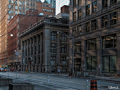 Un matin... (Jean S..) Tags: morning outdoor building street sidewalk day windows sun
