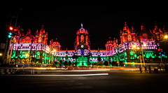 Glorious Tricolor (pratikypatil) Tags: canon eos 600d india mumbai indian bombay outdoor unesco heritage architecture