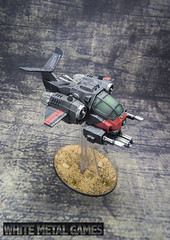 Space Marines in Black and Red