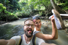 IMG_1052 (Two people two cameras) Tags: indonesia bali asia travel photography photo nature people adventure river action happy proud ubud canon wide selfie