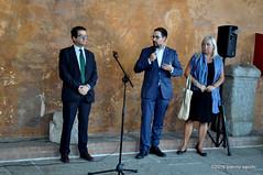 M9090131 (pierino sacchi) Tags: castellovisconteo il900 inaugurazione mostra museicivici pittura sindaco