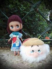 Tamara and Tsum Tsum dwarf Doc