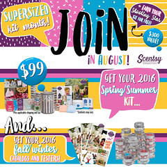 August Join Flyer (FlyersByShawna) Tags: scentsy join august