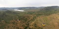 Pilanesburg Air Safari (Kev Gregory (General)) Tags: view pilanesberg national park south africa air balloon safari kev gregory canon 7d panorama photo stitched holiday scenic water green lake landscape mankwe dam