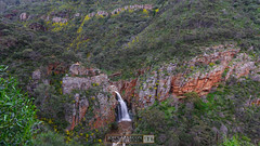 Top View of Morialta Falls (jrazarcon) Tags: nikond810 afs nikkor 20mm f18g ed john azarcon jrazarcon sunset photography parks landscape d810 springs adelaide southaustralia campbelltown sa falls waterfall outdoor rocks escarpment woodforde australia au