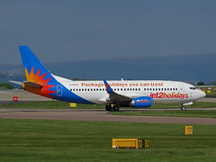 G-GDFO Boeing 737-300 of Jet2 (SteveDHall) Tags: ggdfo aircraft airport aviation airfield aerodrome airplane aeroplane airliner airliners boeing b737 boeing737 b733 b737300 737 737300 733 boeing737300 jet2 ls exs channex