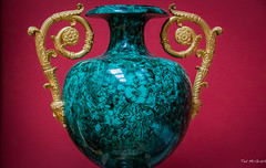 2016 - Baltic Cruise - St. Petersburg - Hermitage 17 (Ted's photos - For Me & You) Tags: 2016 cropped tedmcgrath tedsphotos vignetting russia ussr stpetersburg hermitage museum greenrussianmalachite hermitagegreenrussianmalachite