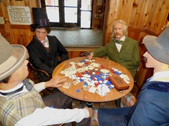 Poker Players at Wall Drug Store (Jeffxx) Tags: drug store drugstore wall south dakota 2016 museum poker wild bill card game statue