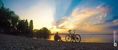 Sunset Bodensee (Tubus112) Tags: daskleinefotostudio inselreichenau sonne sonnenschein sonnenuntergang sunset sky harmonie bodensee sommer natur 2016