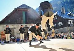Schwerttanz Bckstein (CA_Rotwang) Tags: gastein gasteinertal austria sterreich berge alpen bergleute knappen alps mountains montansiedlung schwerttanz schwert sword uniform tracht schmied