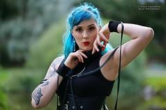 Didi Ou (AV art) Tags: didi ou finnish alternative model blue hair tattooed woman girl gothic style tattoo suomalainen alttimalli malli tatuoitu nainen gootti tyyli avart foto photo photography