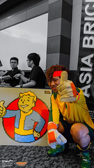 AniManGaki 2016 Day 2 Hangout: 002 (FAT8893) Tags: amg2016 animangaki animangaki2016 cosplay malaysia inazuma eleven mamoru endou mark evans
