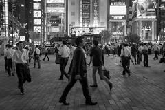 MENS NIGHT (ajpscs) Tags: ajpscs japan nippon  japanese  tokyo  nikon d750 streetphotography street summer shitamachi nightshot tokyonight nightphotography citylights tokyoinsomnia nightview lights dayfadesandnightcomesalive afterdark urbannight monochromatic grayscale monokuro blackwhite blkwht bw blancoynegro mensnight