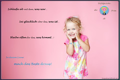 Mach das Beste draus! (Die-Erfolgreiche-Frau) Tags: background fashion child person girl kid face smile small hands white cute young adorable arm people surprised positive funny laughing childhood pretty little isolated emotional expression lifestyle joyful emotions cheerful beautiful happy baby woman female one joy dress color dance feet fulllength lookingatcamera blonde socks pink caucasian studio copy space russianfederation