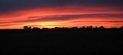 Sunset (serge_lesens) Tags: sunset landscape twilight sky cloud red rouge dark sombre