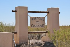 0U1A2630 Welcome To COOLIDGE AZ (colinLmiller) Tags: welcometo sign arizona coolidge 2016 city town