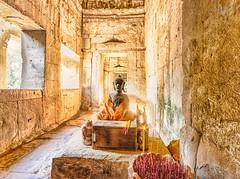 Ta Prohm (Mr Bultitude) Tags: buddha ta prohm incense siem reap cambodia temple sacred