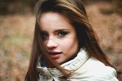 humble (Vladimir Vidanovski) Tags: light portrait girl beautiful project hair model eyes pretty natural makeup 365 eyebrows