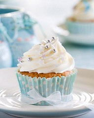 Cupcake for a baby shower (Elvira Perkins) Tags: blue party food baby cakes cake dessert cupcakes baking sweet pastel cream plate nobody birthdayparty whippedcream celebration delicious spots cupcake sprinkles bow snack icing junkfood highkey ribbon iced booties paleblue babyshower bootees babyboy frosting baked frosted babybooties calories buttercream fattening fairycakes spongecake homebaking freshcream homebaked dragees fairycake unhealthydiet unhealthyeating babybootees buttericing