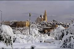 Snow-Covered Jerusalem