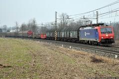L'unica! (Raffaele Russo (LeleD445)) Tags: railroad san siemens spot cargo spotting novi ferro traxx chiasso railfans bovo e474 displook