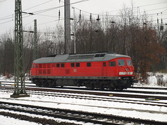234 278-0 Berlin-Grunewald Bahnhof 16/12/2012 (Richard Woodhead) Tags: berlin train germany diesel loco class bahn grunewald deutsche 234