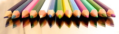 colorful perspective (gigingir*) Tags: pencils colorful colored conceptual concettuale matite colorate