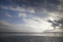 Markermeer Windmolens (PeterWdeK) Tags: winter ice blauw nederland bluesky marken tegenlicht ijs markermeer kruien