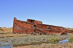 Wrecked (Plymography Down Under!) Tags: nature water port river flow rust ship photographer south tide rusty reserve australia flats shipwreck adelaide beached hull jupiter wreck lefevre peninsula tidal excelsior wrecks jasonnolan muttoncove plymography wwwplymographycom plymographycom
