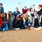 "<b>A Group Photo in the Desert</b><br/> Malta and the Mediterranean Program, Spring 2012, photo by Haylee Elvendahl<a href=""//farm9.static.flickr.com/8225/8435466601_bc002e1eea_o.jpg"" title=""High res"">∝</a>"