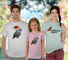 Blog African Grey Shirts (birdorable) Tags: bird africangreyparrot africangrey tshirts birdlover parront