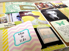 Project Life January Details (Alisa Noble) Tags: journal projectlife