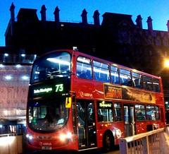 Arriva London DW463 on route 73 Victoria 28/01/12. (Ledlon89) Tags: bus london eclipse transport victoria gemini londonbus daf tfl arriva wrightbus